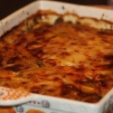 Spinach and Butternut squash Gratin with Autumn Maple Sauce
