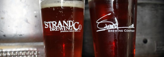 Strand Brewing Company Tap Room Visit + Grand Opening