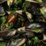 Belgian Golden Ale Steamed Mussels