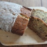 Hefeweizen Glazed Banana Bread