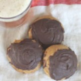 Pumpkin Ale Cookies Topped with Chocolate